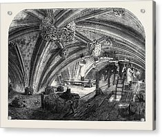 The Crypt Under Old St. Stephens Chapel Westminster Now Acrylic Print