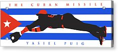 The Cuban Missile Acrylic Print by Ron Regalado
