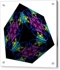 The Cube 13 Acrylic Print by Steve Purnell