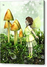 The Curious Fairy Acrylic Print