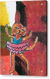 The Curtain Call Acrylic Print