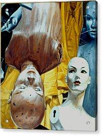 The Curtain Acrylic Print by Dan Ault