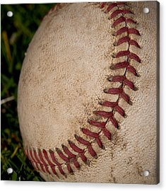 The Curveball Acrylic Print by David Patterson
