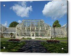 The Curvilinear Glasshouses, National Acrylic Print