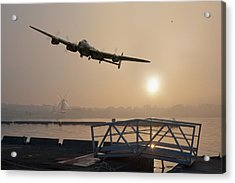 The Dambusters - Last One Home Acrylic Print