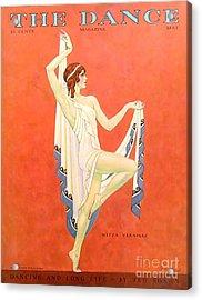 The Dance 1929 1920s Usa Nitza Vernille Acrylic Print