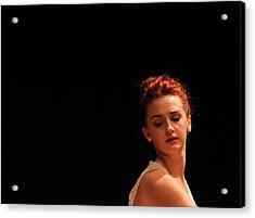 The Dance 2 Acrylic Print by Carolyn Ricks