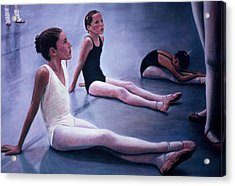 The Dance Class Acrylic Print by James Welch