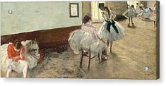 The Dance Lesson Acrylic Print