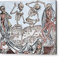 The Dance Of Death Acrylic Print