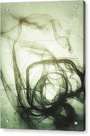 The Dance Pre-natal Acrylic Print by Guillermo De Llera