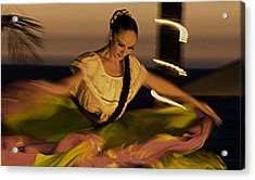 Acrylic Print featuring the photograph The Dancer II by Chuck Caramella