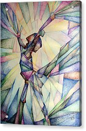 The Dancer Acrylic Print by Jennifer Apffel