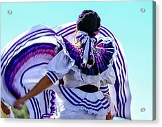 The Dancer Acrylic Print by Menachem Ganon