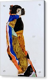 The Dancer Moa Acrylic Print by Pg Reproductions