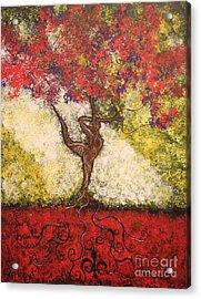 The Dancer Series 7 Acrylic Print