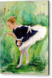 The Dancer Acrylic Print by Sheila Diemert