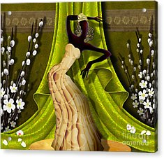 The Dancer V3 Acrylic Print by Bedros Awak