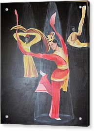 The Dancers Acrylic Print
