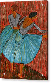 The Dancers Acrylic Print by John Giardina