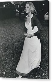 The Danes Believe Countess Desires Could Be The Bride For Acrylic Print by Retro Images Archive