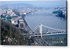 The Danube Acrylic Print by Eva Kato