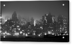 The Dark And Stormy Night Acrylic Print by JC Findley
