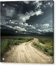 The Dark Clouds Acrylic Print by Boon Mee