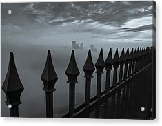 The Dark Night Acrylic Print by Jennifer Grover