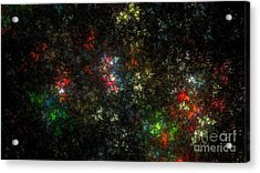The Dark Side Of Monet Acrylic Print by Peter R Nicholls