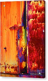 Acrylic Print featuring the photograph The Darkside II by Christiane Hellner-OBrien