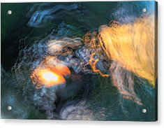 The Dawn Of Time Acrylic Print by Steve Belovarich