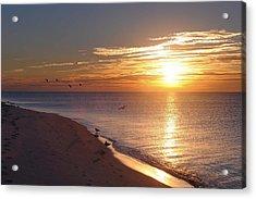 The Dawn's Early Light Acrylic Print