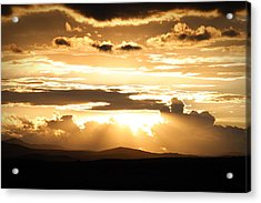The Day It Started Acrylic Print