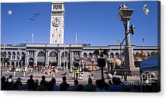 The Day The Circus Came To Town Again Dsc1745 Long Acrylic Print