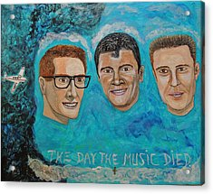 The Day The Music Died. Acrylic Print