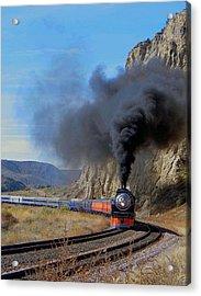 The Daylight 4449 Montana Driveby Acrylic Print