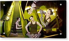 The De-escalating Dream - Self Portrait Acrylic Print by Jaeda DeWalt