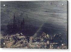 The Dead City Acrylic Print by Victor Hugo