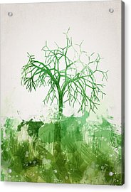 The Dead Tree Acrylic Print by Aged Pixel