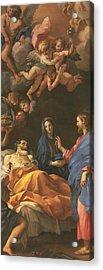 The Death Of Saint Joseph Acrylic Print