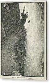 The Death Of Sherlock Holmes Acrylic Print