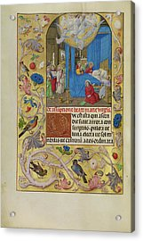 The Death Of The Virgin Master Of The Lübeck Bible Bruges Acrylic Print
