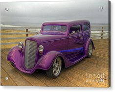 The Deep Purple Ride Acrylic Print