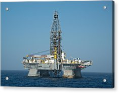 The Deepwater Horizon Acrylic Print
