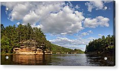 The Dells Of The Wisconsin River Acrylic Print