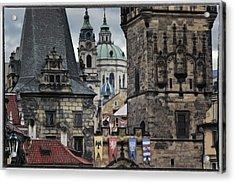 The Depths Of Prague Acrylic Print by Joan Carroll