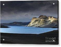 Acrylic Print featuring the photograph The Desert by Gunnar Orn Arnason