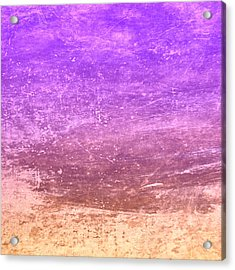 The Desert Acrylic Print by Peter Tellone