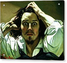 The Desperate Man Acrylic Print